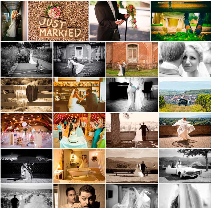 Beste Hochzeitsfotos von 2016