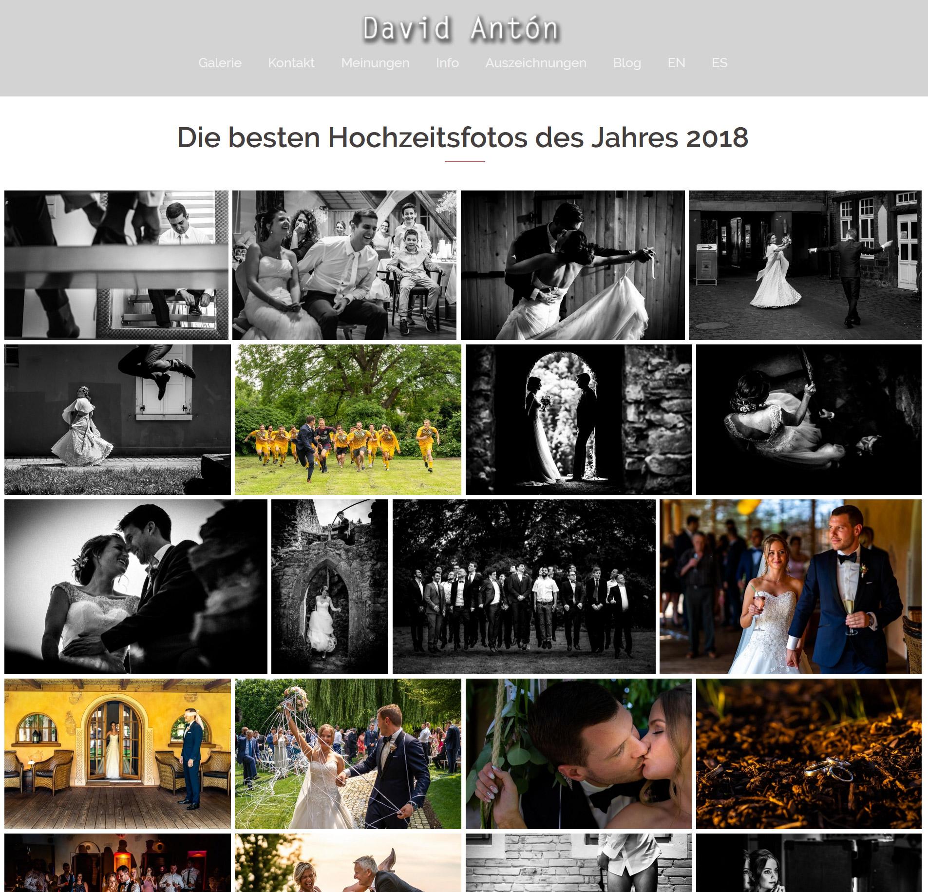 Beste Hochzeitsfotos 2018