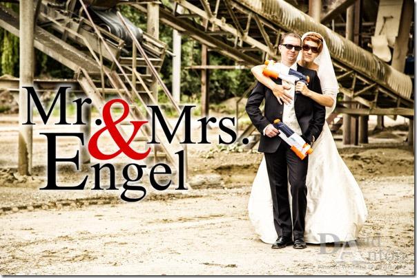 Trash the Dress a la Mr. und Mrs. Smith